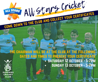 All Stars Certificate Presentations