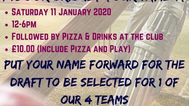 Dumfries Indoor Premier League (IPL) Tournament - 11 Jan 2020