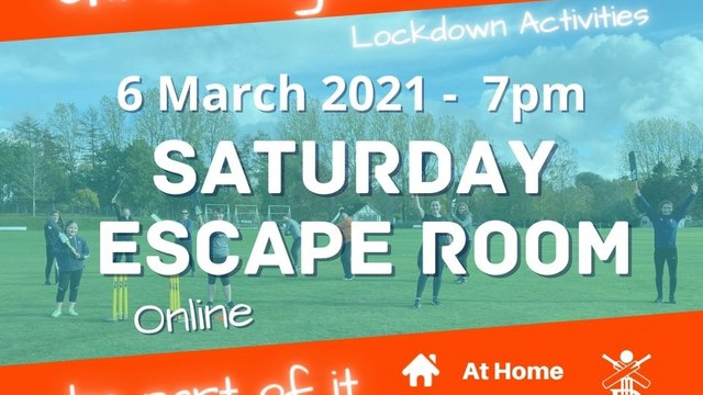 Women and Girls Escape Room - 6 March