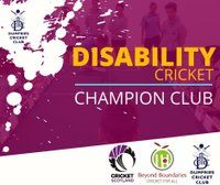 Dumfries - a Disability Cricket Champion Club