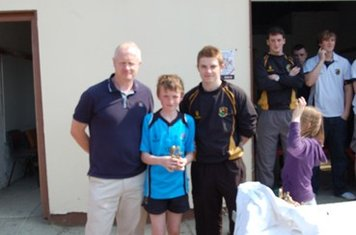 U13's Player of the Year Daragh Toal