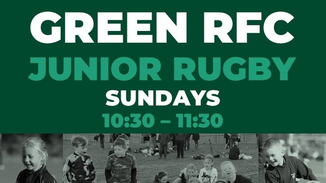 Junior Rugby Is Back