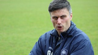 Gav gives us an update before The Dons visit