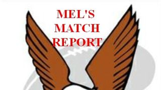 EAGLES OPEN WITH A FINE VICTORY