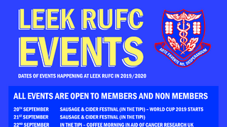 2019-20 Events Poster