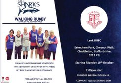 Walking Rugby Monday 19th October