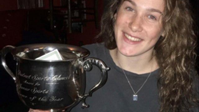 Jenny Hesketh Wins Staffs Moorlands Sports Awards