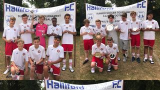 Halliford Colts tournament clean sweep