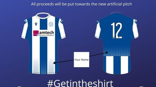 Thatcham Town FC Kit Campaign - Harriers Promotion