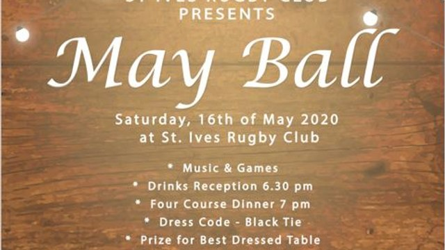 May Ball tickets available