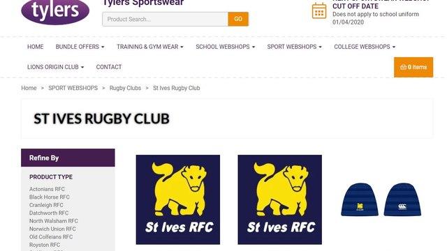 Club Online Shop Now Open!