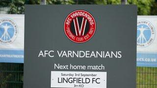 AFC Varndeanians v Lingfield FC