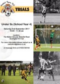 Under 9s Players Wanted!