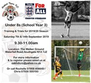 U8 Players Wanted!