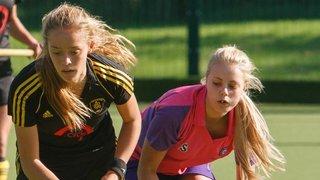 Girl's U18's - Match vs. Beeston U18's (06-10-2013) - Photo's courtesy of Howard Cotterill