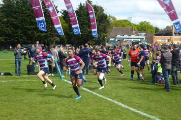 Wimbledon take to the pitch for their crucial play-off match v Dings Crusaders