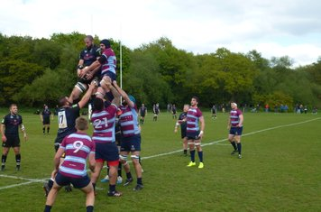 """Chopper"""" Campbell Tait wrestles for Dings lineout ball"""