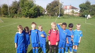 Under 8's Paint The Town Yellow