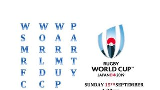 Rugby World Cup 2019 Warm Up Party