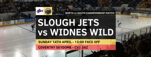 Countdown begins - Slough Jets v Widnes Wild
