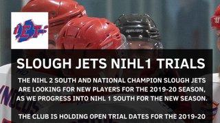 Slough Jets NIHL Trials