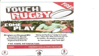 Touch Rugby 2013