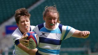 Lewes Women Playing for Sussex in the County Championship Final at Twickenham - 2 June 2019