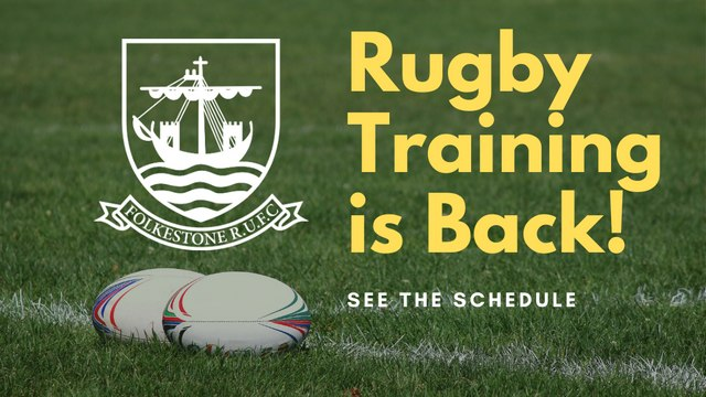 Rugby Training is Back!