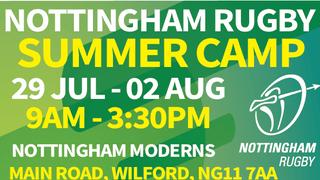 Summer Rugby Camp at Nottingham Moderns!