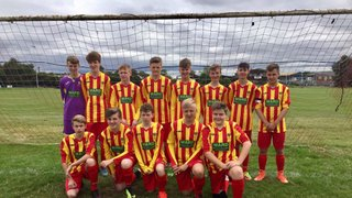 First win for the under 16's
