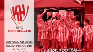 AFC Kirk Hallam Summer Tournament 2019