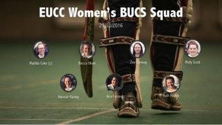 Women's Indoor BUCS Match Report 29/10/16