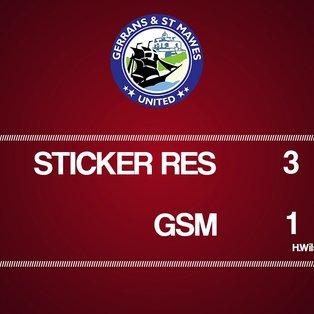 Sticker Res vs GSM