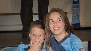 Fleet Town Girls and Ladies FC Presentation Photos 2015