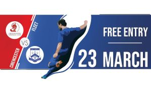 Fleet Town Fc Re Launch Game 23 3 19