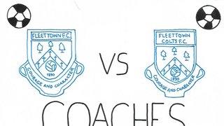 Fleet Town Girls & Ladies Coaches V Fleet Town Colts Coaches End of Season Football Match