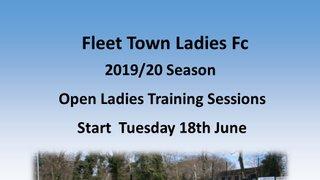 Fleet Town Ladies Open Preseason Training