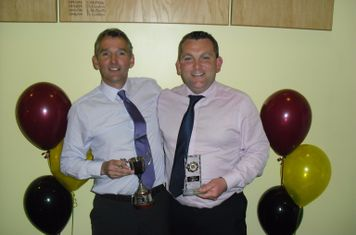 Colin McWhirter 4th XI Player of the Year & Joe Wray 4th Top Goalscorer