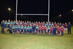 First match Played under floodlights at Deeside RFC