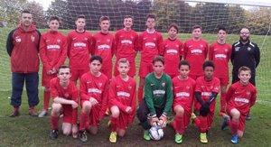 U14 Templars in the Cup Final 2015/16