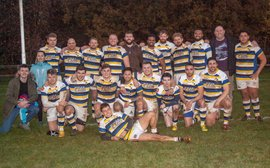 Lunch at the Pightle before the Streatham and Croydon game, Saturday, December 8th