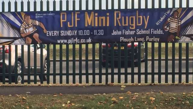 PJF Minis take the field for the first time at Rosslyn Park