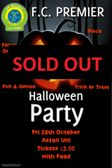 2016 Halloween Party is SOLD OUT!
