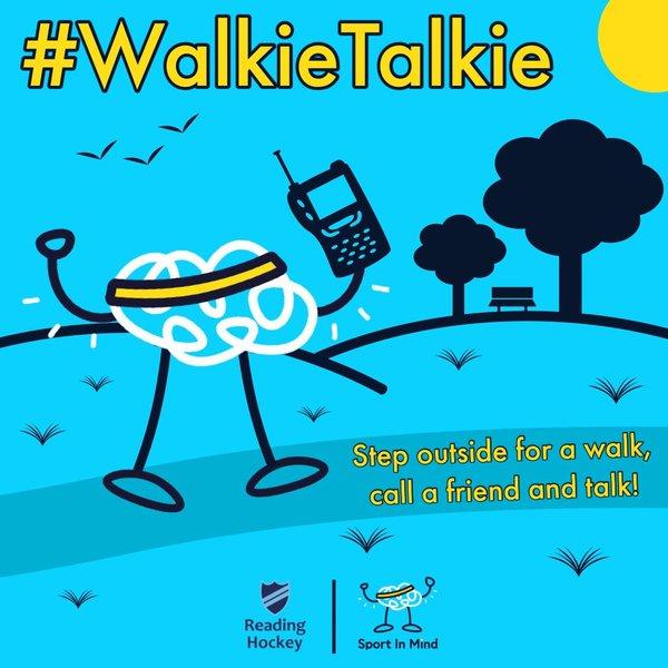 Sport In Mind #walkietalkie campaign