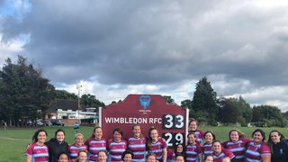 Wimbledon Women's XV stage an awesome come back!