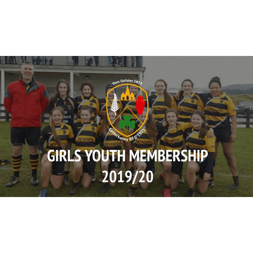 2019/20 Girls Youth Rugby Membership