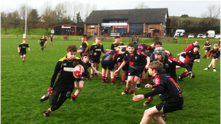 A Rainey December day for the U14s in Magherafelt