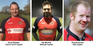 WISBECH RUFC SENIOR TEAM CAPTAINS 2020-21