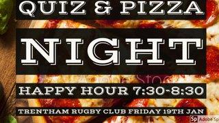 TRENTHAM SOCIALS GAME OFF... PIZZA & QUIZ NIGHT ON INSTEAD!!!!