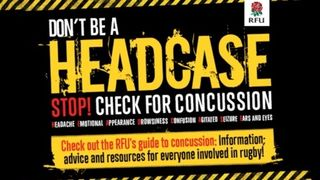 New RFU online concussion course available.